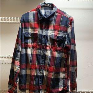 American Eagle flannel Medium long sleeve shirt